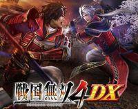 Portada oficial de Samurai Warriors 4 DX para PS4