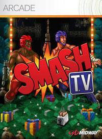 Portada oficial de Smash TV XBLA para Xbox 360