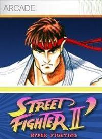 Portada oficial de Street Fighter II' Hyper Fighting XBLA para Xbox 360