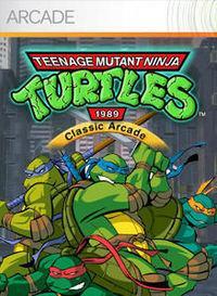 Portada oficial de Teenage Mutant Ninja Turtles 1989 Arcade XBLA para Xbox 360