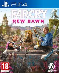 Portada oficial de Far Cry: New Dawn para PS4
