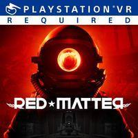 Portada oficial de Red Matter para PS4