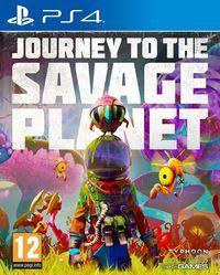 Portada oficial de Journey to the Savage Planet para PS4