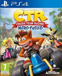 Portada oficial de Crash Team Racing Nitro-Fueled para PS4