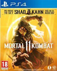 Portada oficial de Mortal Kombat 11 para PS4
