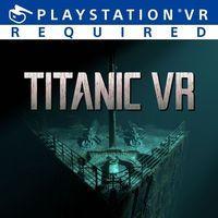 Portada oficial de Titanic VR para PS4