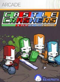 Portada oficial de Castle Crasher XBLA para Xbox 360