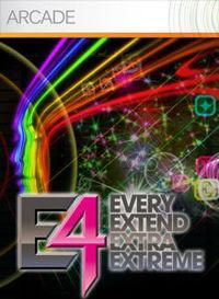Portada oficial de Every Extend Extra Extreme XBLA para Xbox 360
