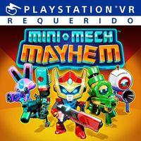 Portada oficial de Mini-Mech Mayhem para PS4