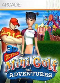 Portada oficial de 3D Ultra Minigolf Adventures XBLA para Xbox 360