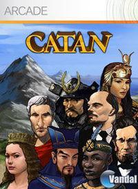 Portada oficial de Catan XBLA para Xbox 360