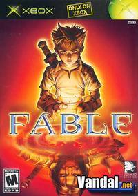 Portada oficial de Fable para Xbox