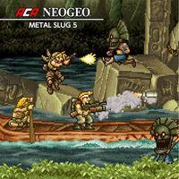 Portada oficial de NeoGeo Metal Slug 5 para Switch
