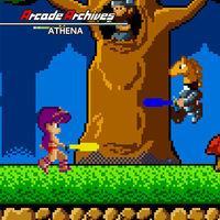 Portada oficial de Arcade Archives ATHENA para Switch