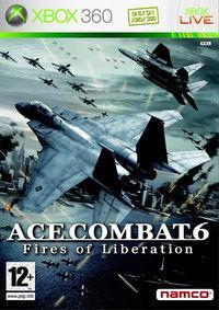 Portada oficial de Ace Combat 6 para Xbox 360