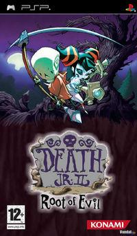 Portada oficial de Death Jr. 2: Root of Evil para PSP