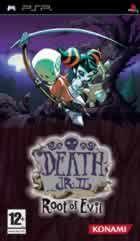 Portada oficial de de Death Jr. 2: Root of Evil para PSP