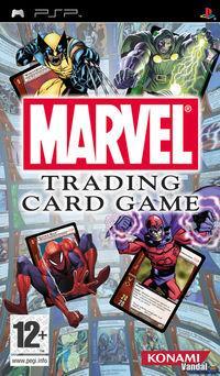 Portada oficial de Marvel Trading Card Game para PSP