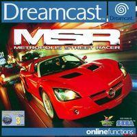 Portada oficial de Metropolis Street Racer para Dreamcast