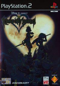 Portada oficial de Kingdom Hearts para PS2