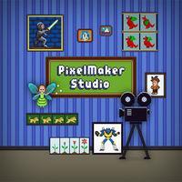 Portada oficial de PixelMaker Studio para Switch