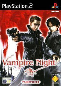 Portada oficial de Vampire Night para PS2