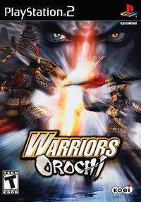 Portada oficial de Orochi Warriors para PS2