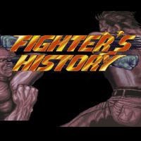Portada oficial de Fighter's History para Switch