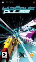 Portada oficial de de WipEout Pulse para PSP