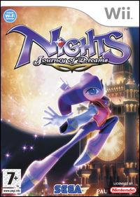 Portada oficial de NiGHTS: Journey of Dreams para Wii