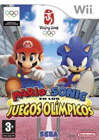 Portada oficial de Mario y Sonic en los Juegos Olímpicos para Wii