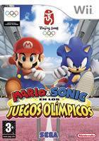 Portada oficial de de Mario y Sonic en los Juegos Olímpicos para Wii