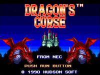 Portada oficial de Dragon's Curse CV para Wii
