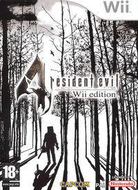 Portada oficial de Resident Evil 4 Wii Edition para Wii