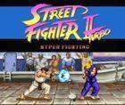 Portada oficial de de Street Fighter II Turbo: Hyper Fighting para Wii