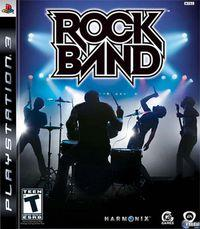 Portada oficial de Rock Band para PS3