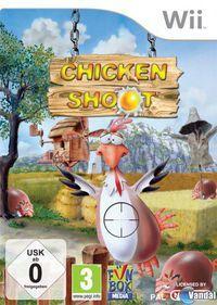 Portada oficial de Chicken Shoot + Egg Catcher para Wii