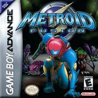 Portada oficial de Metroid Fusion para Game Boy Advance