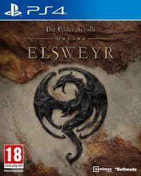 Portada oficial de The Elder Scrolls Online: Elsweyr para PS4