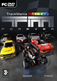 Portada oficial de Trackmania United para PC