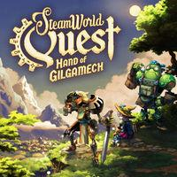 Portada oficial de SteamWorld Quest: Hand of Gilgamech para Switch