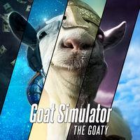 Portada oficial de Goat Simulator: the GOATY para Switch