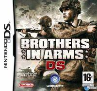 Portada oficial de Brothers in Arms DS para NDS