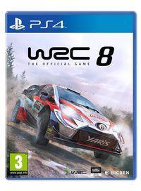 Portada oficial de WRC 8 para PS4