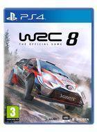 Portada oficial de de WRC 8 para PS4