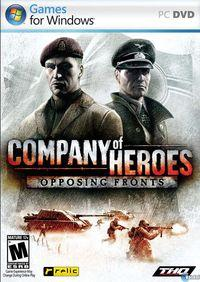 Portada oficial de Company Of Heroes: Opposing Fronts para PC