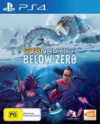 Portada oficial de Subnautica: Below Zero para PS4