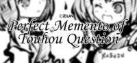 Portada oficial de Perfect Memento of Touhou Question para PC