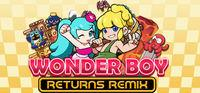 Portada oficial de Wonder Boy Returns Remix para PC