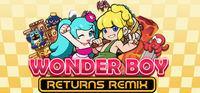 Portada oficial de Wonder Boy Returns Remix para PC